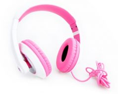 Urban Monkey Groovz Stereo Headphones Pink