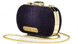 Stelle Mini Clutch Purple with Bluetooth Speaker