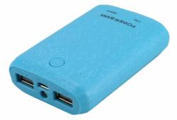 Power Bank 7800mAh - modrá