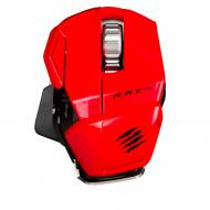Mad Catz R.A.T. M Wireless Mobile Gaming Mouse Red