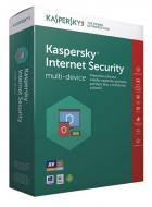 Kaspersky Internet Security multi-device 2017 CZ, 1PC/1 rok, nová licence