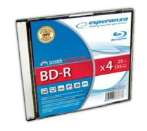 Esperanza BD-R [ slim jewel case | 25GB | 4x ]