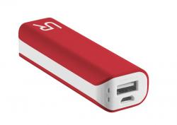 PowerBank 2200 Portable Charger - red