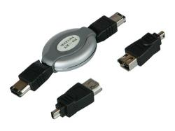 i-Tec FireWire Travel Cable ( 4/4,4/6,6/6 )