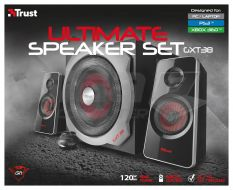 Trust GXT 38 2.1 Ultimate Bass Speaker Set - Fotka 3/3