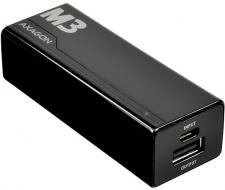 AXAGON - MINI Power Bank 2600mAh, BLACK