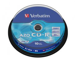 Verbatim CD-R Spindle 52x - 10ks