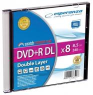 DVD+R Double Layer ESPERANZA [ Slim 1 | 8,5 GB | 8x ]