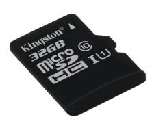 Kingston MicroSDHC 32GB UHS-I U1 - Bez adaptéru