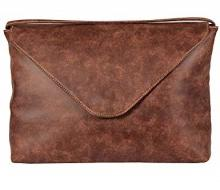 Storm Men's Addison Laptop Wallet Brown
