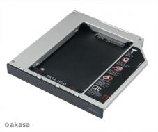 "AKASA HDD box N.Stor S12, 2.5"" SATA do pozice 5,25"" SATA (výška HDD do 13mm)"