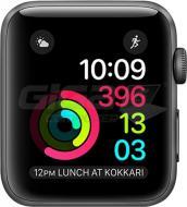 Chytré príslušenstvo Apple Watch 42mm Series 2 Space Gray - S/M - Fotka 1/1