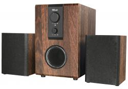 Trust Silva 2.1 Speaker set for PC and laptop Wooden
