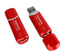 ADATA DashDrive UV150 32GB USB 3.1 flashdisk, slim, červený