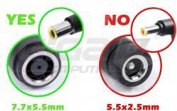 Lenovo redukce Kulatý (7.7mm) na Lenovo Slim Tip (hranatý 10.5mm) - Fotka 3/3