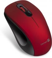 Connect IT MUTE bezdrátová optická tichá myš, červená