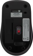Connect IT MUTE bezdrátová optická tichá myš, červená - Fotka 6/7