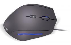 Connect IT FOR HEALTH ergonomická vertikální drátová myš - Fotka 1/5