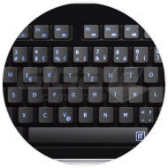 Connect IT klávesnice, LED podsvícená, USB - Fotka 2/3