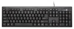 Connect IT kancelářská klávesnice, USB, černá - Fotka 1/5