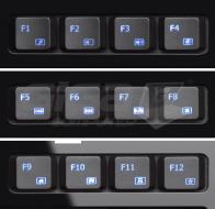 Connect IT klávesnice, LED podsvícená, USB - Fotka 3/3