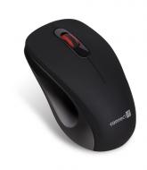 Connect IT MUTE bezdrátová optická tichá myš, černá