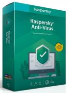 Kaspersky Anti-Virus 2019 CZ, 1PC, 1 rok, nová licence, box