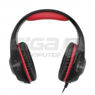 Sluchátka Connect IT BIOHAZARD herní sluchátka s mikrofonem, červená - Fotka 3/5