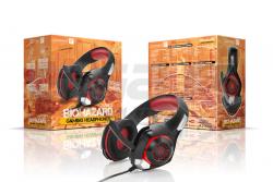 Sluchátka Connect IT BIOHAZARD herní sluchátka s mikrofonem, červená - Fotka 5/5
