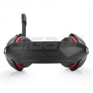 Sluchátka Connect IT BIOHAZARD herní sluchátka s mikrofonem, červená - Fotka 4/5