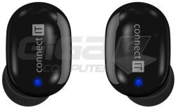 Sluchátka Connect IT True Wireless SensorTouch sluchátka do uší s mikrofonem, ČERNÁ - Fotka 6/9