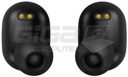 Sluchátka Connect IT True Wireless SensorTouch sluchátka do uší s mikrofonem, ČERNÁ - Fotka 8/9