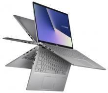 ASUS ZenBook Flip 14 UM462DA Light Grey - Notebook
