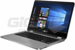 Notebook ASUS VivoBook Flip 14 TP401 Light Grey - Fotka 3/6