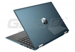 Notebook HP Pavilion x360 14-dw1014nx Forest Teal - Fotka 5/6