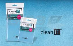 CLEAN IT čisticí utěrka z mikrovlákna, velká světle modrá - Fotka 2/2