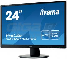 "Monitor 24"" LCD Iiyama ProLite X2483HSU - Fotka 2/8"