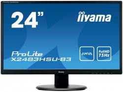 "24"" LCD Iiyama ProLite X2483HSU - Monitor"