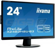 "Monitor 24"" LCD Iiyama ProLite X2483HSU - Fotka 1/8"