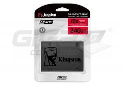 """Kingston A400 240GB SATA3 2.5"""" SSD 7mm - Fotka 3/3"""