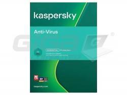 Kaspersky Anti-Virus 1x 1 rok Nová 2021 BOX - Fotka 1/2