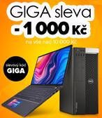 Sleva – 1 000 Kč s kódem GIGA